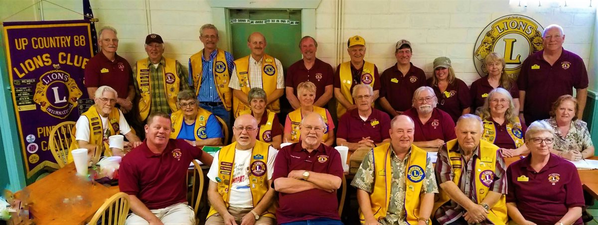 Members of Up Country 88 Lions